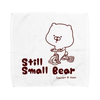 ちっこいくま。 Towel handkerchiefs