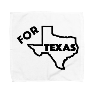 For Texas project ENG Towel handkerchiefs