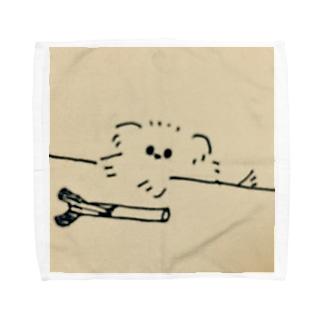 犬拭くやつ Towel handkerchiefs