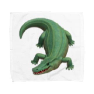 わにグッズ Towel handkerchiefs