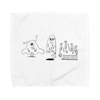 MONSTERS Towel handkerchiefs