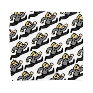 taityoの走る男 Towel handkerchiefs