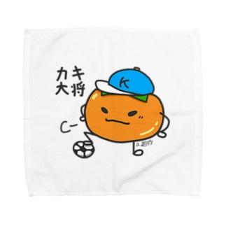 カキ大将くん Towel Handkerchief