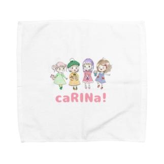 caRINa!のGirls♡ Towel Handkerchief