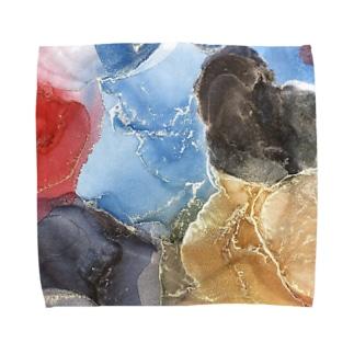 放てば手に満てり Towel Handkerchief
