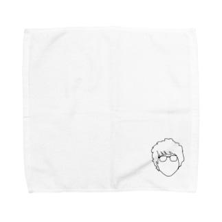 メガネさん Towel handkerchiefs