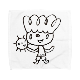 はっぱboy Towel handkerchiefs