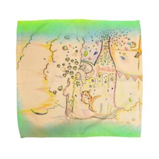 shirotaro-夏の終わりに- Towel handkerchiefs