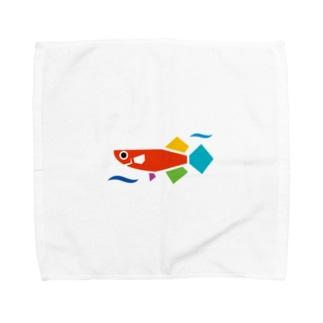 JMAロゴのみ Towel Handkerchief