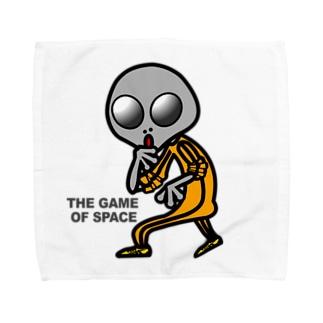 宇宙遊戯 ポスターバージョン Towel handkerchiefs