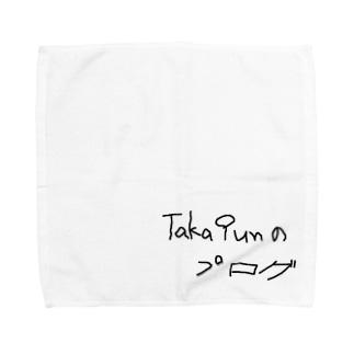 Taka9unのブログッズ タオルハンカチ