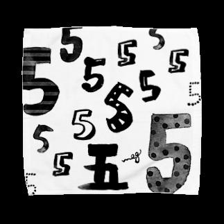 megumiillustrationの5タオルハンカチ