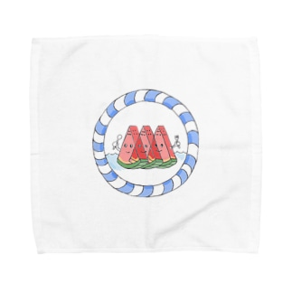 すいか三兄弟 Towel handkerchiefs