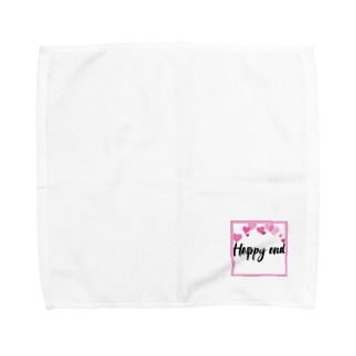 happy end  Towel handkerchiefs