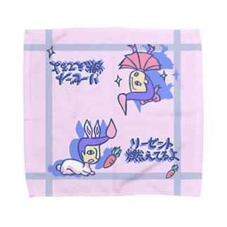 リーゼント燃えてるよ バニーとガールVer. Towel handkerchiefs