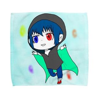 Creator dollのデフォルメソリッド Towel handkerchiefs