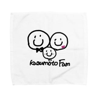 楠本Familyイラスト2 Towel handkerchiefs