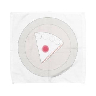 ショートケーキの平面図 Towel handkerchiefs