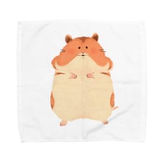 ゴールデンハムスター Towel handkerchiefs