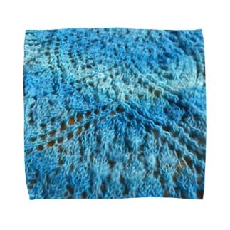 オトナに似合うレース編み Towel handkerchiefs