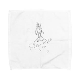 フラメンコ Towel handkerchiefs