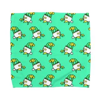 ヒボたんの行進 Towel handkerchiefs
