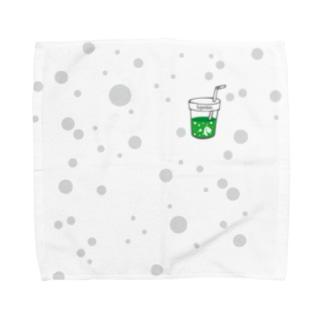 I.gasu soda 【アイガス】 Towel handkerchiefs