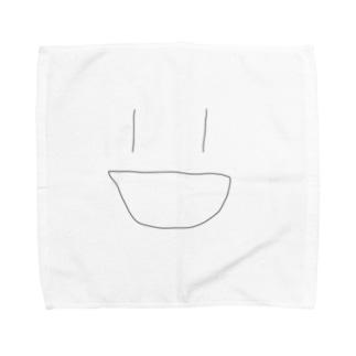 適当に笑う人 Towel handkerchiefs