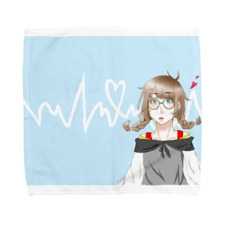 三つ編みちゃん Towel handkerchiefs