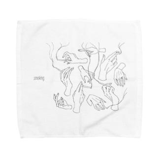 煙草 Towel handkerchiefs