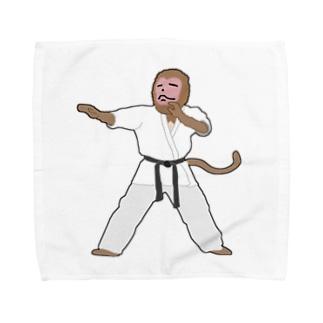 武闘家猿 Towel handkerchiefs