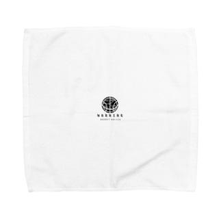 バスケ ボール シンプル モノクロ Towel handkerchiefs