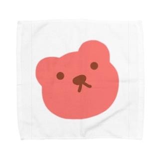 ピンクマ Towel handkerchiefs