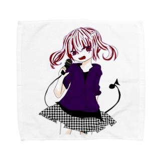 める Towel handkerchiefs