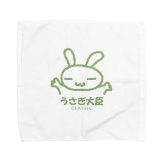 うさぎ大臣 CLASSIC Towel handkerchiefs