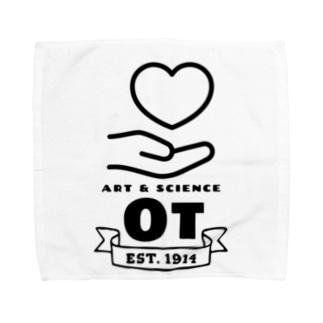 作業療法 Towel handkerchiefs