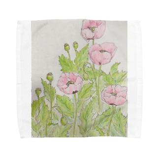 アツミゲシ Towel handkerchiefs