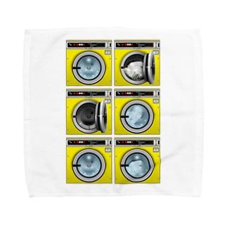コインランドリー Coin laundry【2×3】 タオルハンカチ