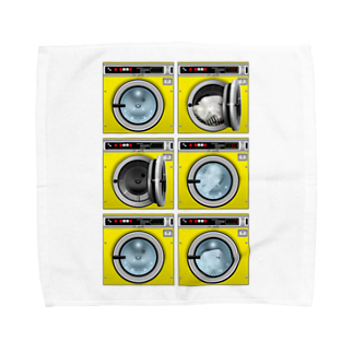 TOMOKUNIのコインランドリー Coin laundry【2×3】 Towel handkerchiefs