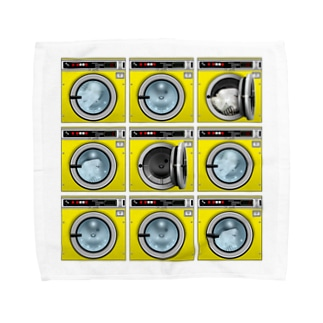 コインランドリー Coin laundry【3×3】 タオルハンカチ