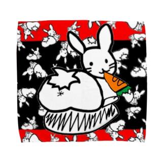 カオスうさぎ:和風(L用) Towel handkerchiefs