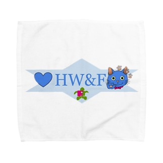 荻上ネリイさんとコラボしたHW&F Towel handkerchiefs