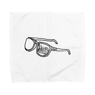 サングラスにバッシュ Towel handkerchiefs