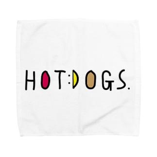 HOTDOGS Towel handkerchiefs