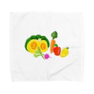 やさい Towel Handkerchief
