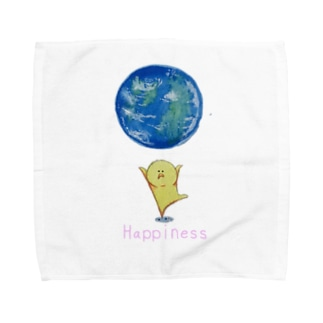 地球 Towel handkerchiefs