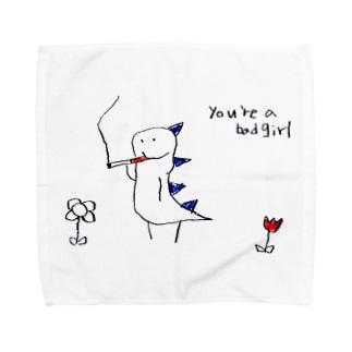 喫煙怪獣 Towel handkerchiefs