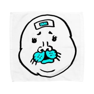 タテゴトアザラシの寺田 Towel handkerchiefs