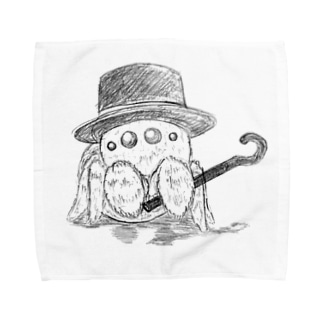 ハエトリグモ Towel handkerchiefs