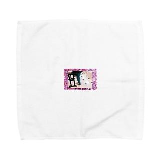 ootd in Osaka Towel handkerchiefs